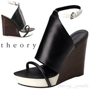 Theory Melina Platform Wedge sandals 39.5